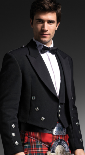 black prince Charlie jacket